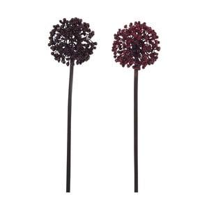 Sada 2 kusov umelých kvetín