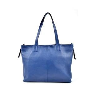 Modrá kožená kabelka Roberta M Awero Blu