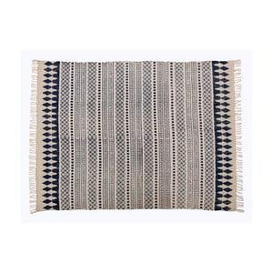 Sivý koberec Cotex Masivo, 70 × 140 cm