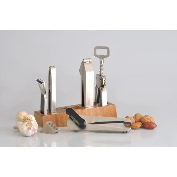 Set kuchynských nástrojov Orion v drevenom stojane