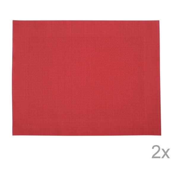 Sada 2 prestieraní Saleen Red, 30x40 cm