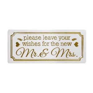 Dekorácia Heaven Sends Wishes forMr&Mrs