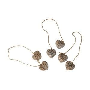 Závesná ozdoba Antic Line Hearts Ornament