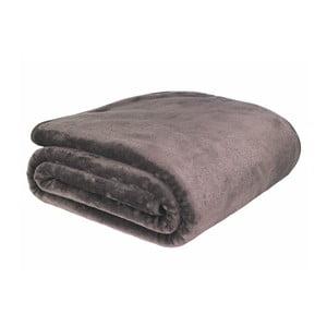 Hnedá deka Catherine Lansfield Basic Cuddly, 200×240 cm
