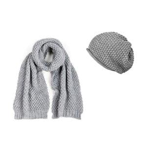 Sivá čiapka a šál Lavaii Charm