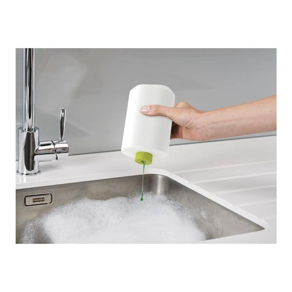 Biely stojan na umývacie prostriedky Joseph Joseph SinkBase Plus