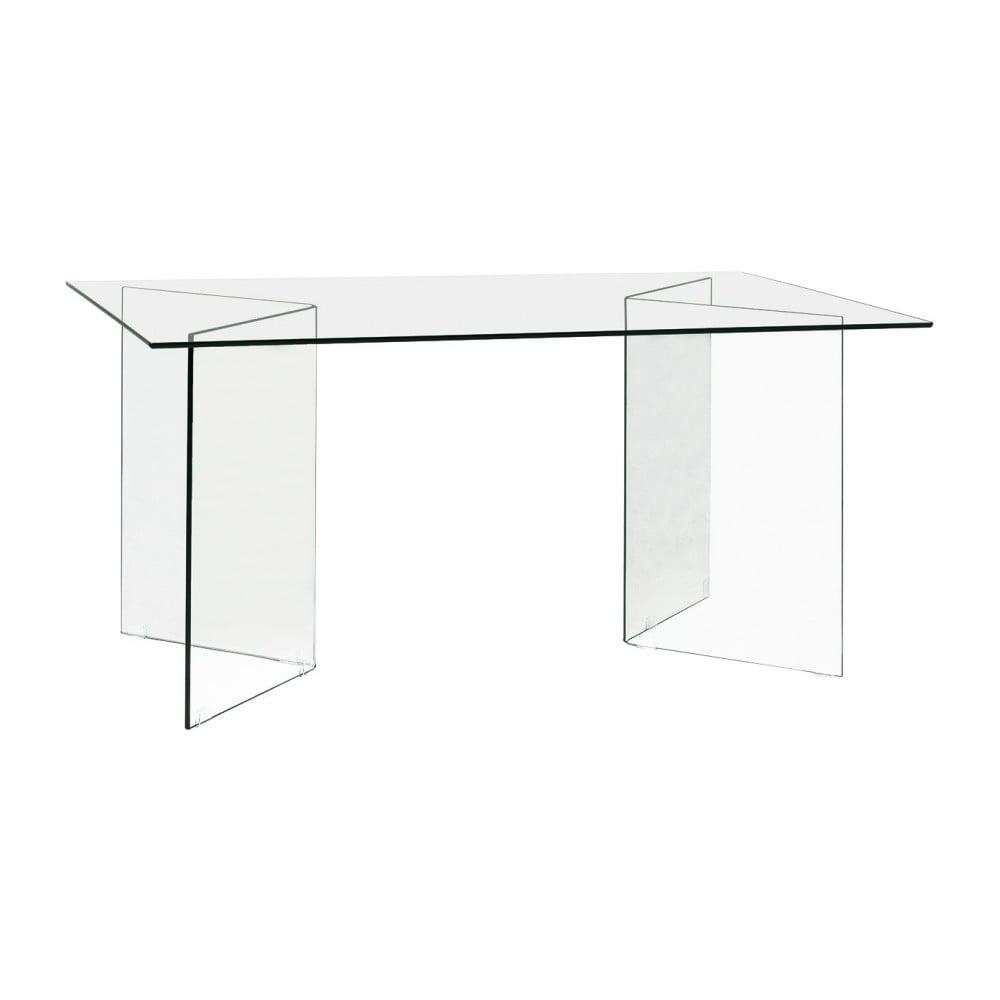 Sklenený jedálenský stôl Evergreen House Esidra, dĺžka 160 cm