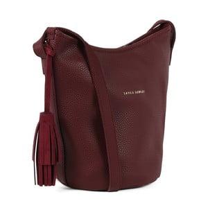 Tmavočervená kabelka Laura Ashley Lofxord
