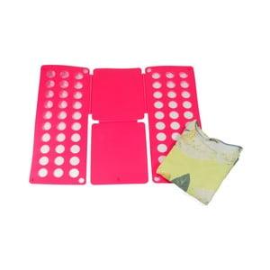 Ružová podložka na skladanie košieľ a tričiek JOCCA