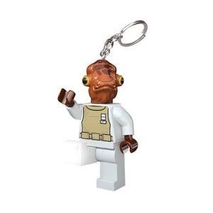 Svietiaca kľúčenka LEGO® Star Wars Admirál Ackbar
