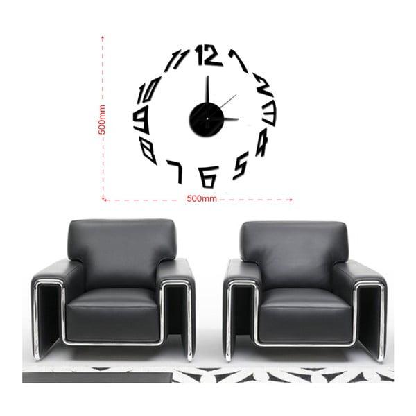 Nástenné nalepovacie hodiny Mauro Ferretti Basic, ⌀ 50 cm
