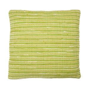 Vankúš Green Stripes, 60x60 cm
