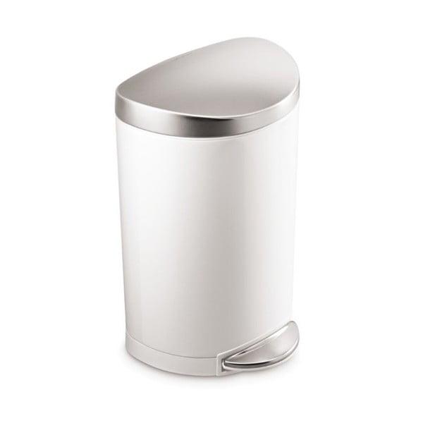 Kôš do kúpeľne simplehuman  10 l, biely