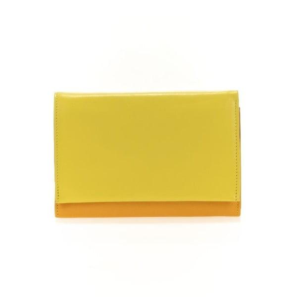 Peňaženka a obal na kreditné karty Orange