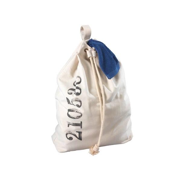 Béžový závesný kôš na bielizeň Wenko Sailor, 50 l