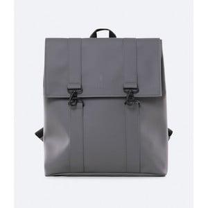Tmavosivý batoh s vysokou vodoodolnosťou Rains MSN Backpack
