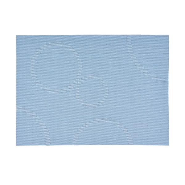 Prestieranie s kruhmi, svetlo modré 40x30 cm