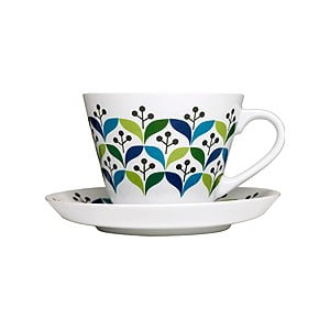 Porcelánová šálka s tanierikom Retro Sagaform