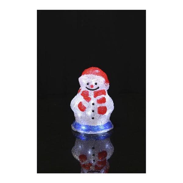 Svietiaca dekorácia Crystal Snowman 16