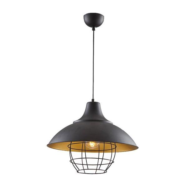 Stropné svetlo In Industry Black / Gold