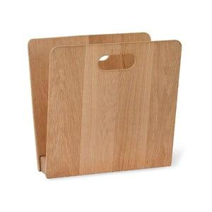 Stojan na časopisy z dubového dreva Garden Trading, šírka 22 cm