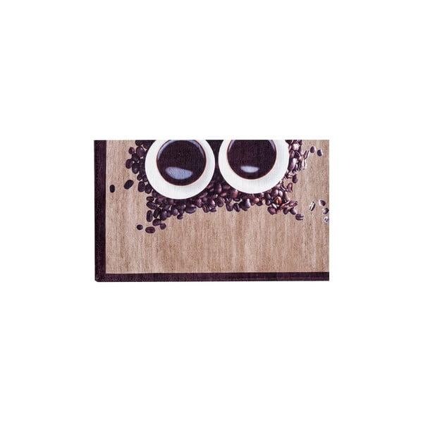 Vysokoodolný kuchynský koberec Floorita Gufocaffe, 60×110 cm