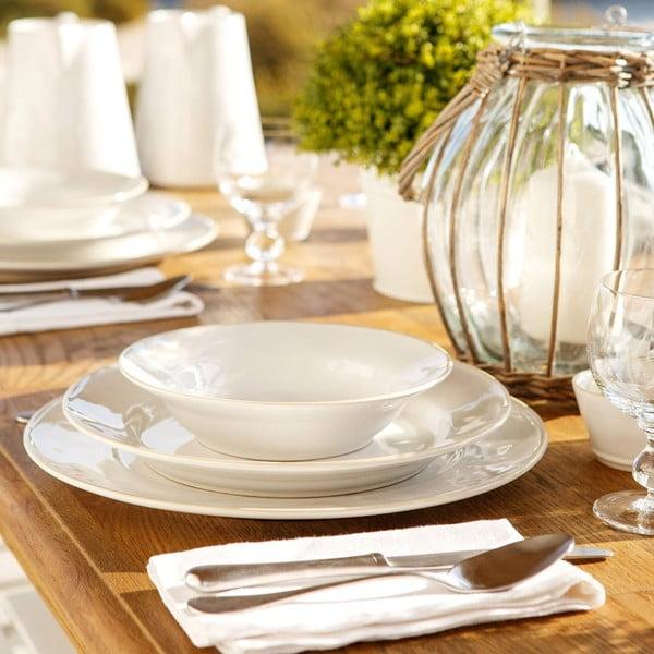 Biely keramický tanier Costa Nova Astoria, ⌀ 15 cm