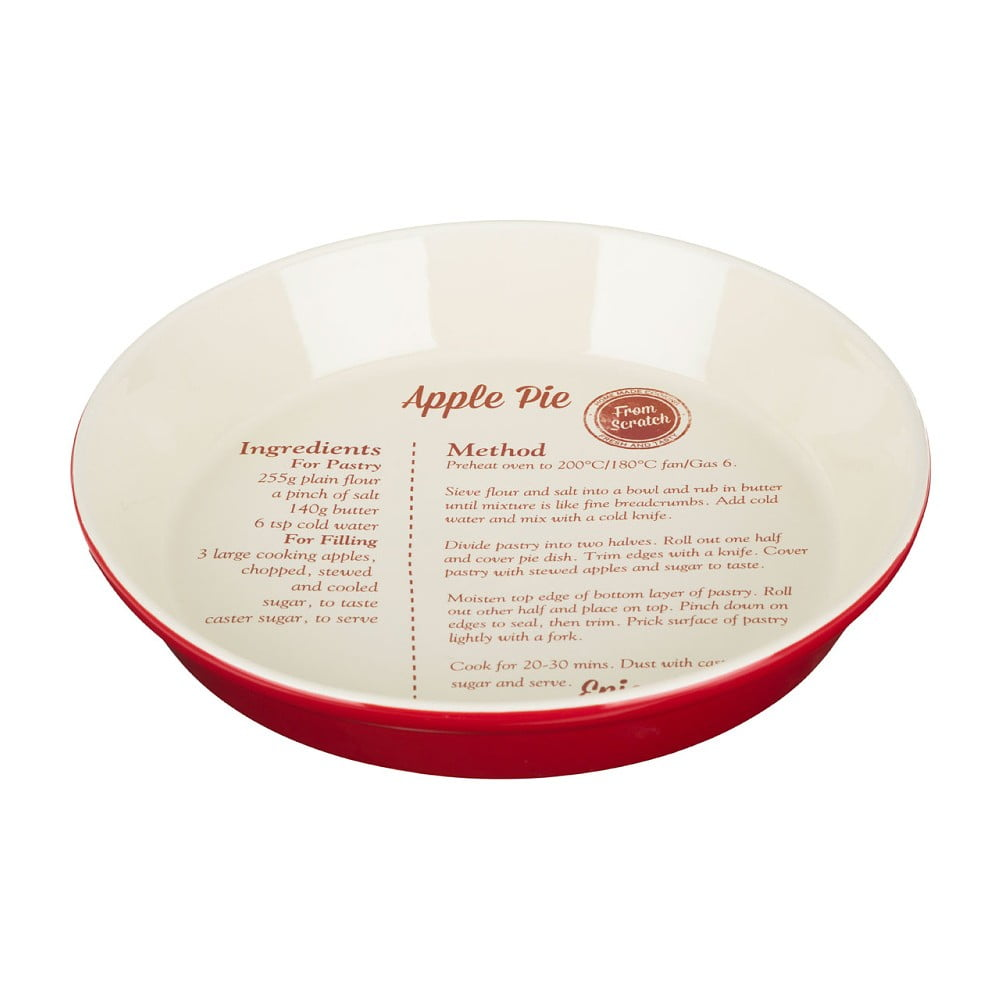 Nádoba na pečenie s receptom na jablkový koláč Premier Housewares From Scratch
