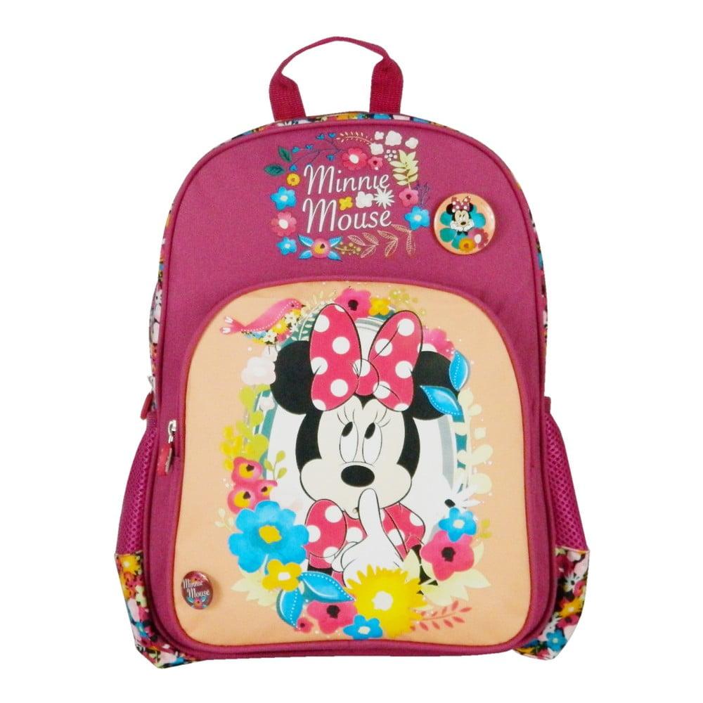 Ružový školský batoh Bagtrotter Minnie