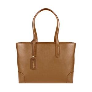 Hnedá kožená kabelka Maison Bag Lena