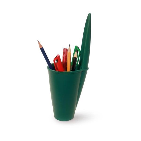 Zelený kancelársky organizér J-Me Lid Pot