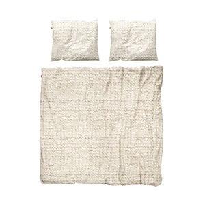 Béžové obliečky Snurk Twirre,200x200cm