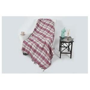 Bavlnená deka Dolce Bonita Ekoseli, 200×150 cm