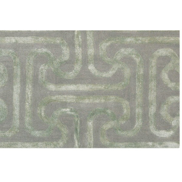 Koberec Twist Light Green, 153x244 cm