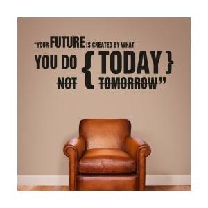 Samolepka na stenu Future