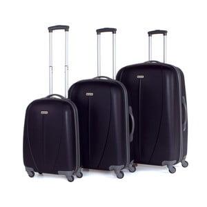 Set 3 cestovných kufrov Tempo Negro