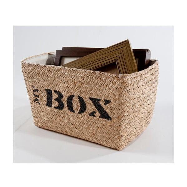 Prútený košík My Box, 34x21 cm