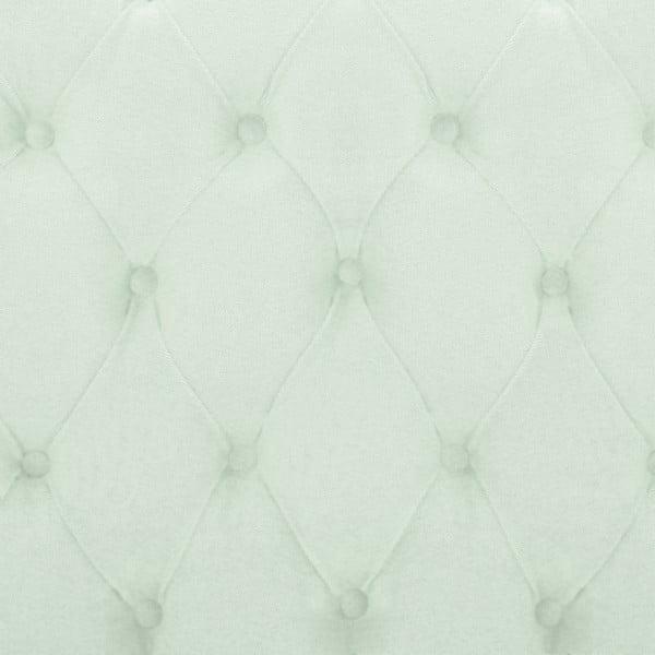 Pastelovozelená posteľ VIVONITA Allon 160x200cm, prírodné nohy