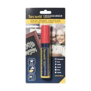 Červená kriedová fixka na vodnej báze Securit® Liquid Passo