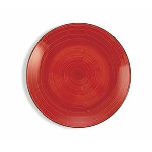 Sada 6 vínovočervených tanierov Villa d´Este Baita, ø 19 cm