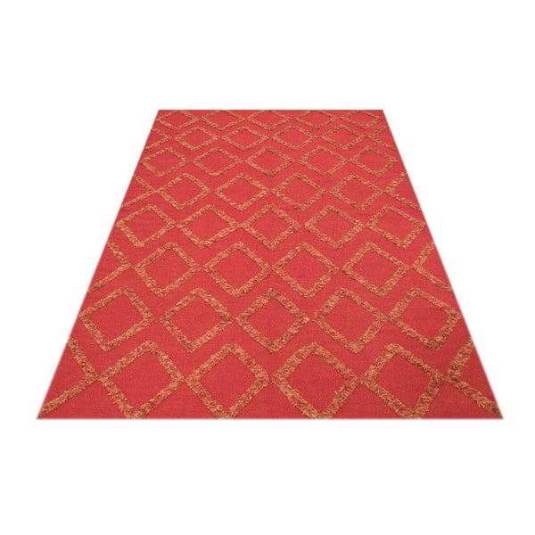 Vlnený koberec Kilim 601, 140x200 cm