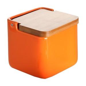 Oranžová dóza na soľ Versa Orange Basic Salt Box
