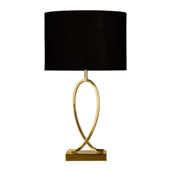 Čierna stolová lampa Scan Lamps Posh