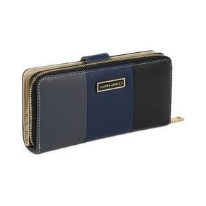 Čierna peňaženka z koženky Laura Ashley Oceana