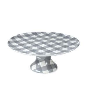 Servírovací tanier Anne, sivý