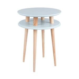 Svetlosivý konferenčný stolík Ragaba UFO,Ø45cm