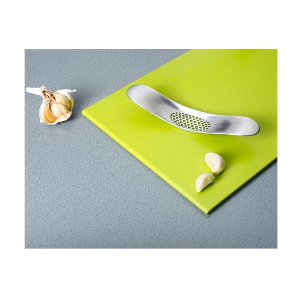 Kolískový lis na cesnak Garlic Crusher, zinok