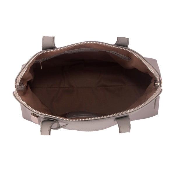 Sivá kabelka z pravej kože Andrea Cardone Anjelica