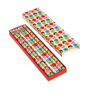 Sada 6 ceruziek Rex London Poppy