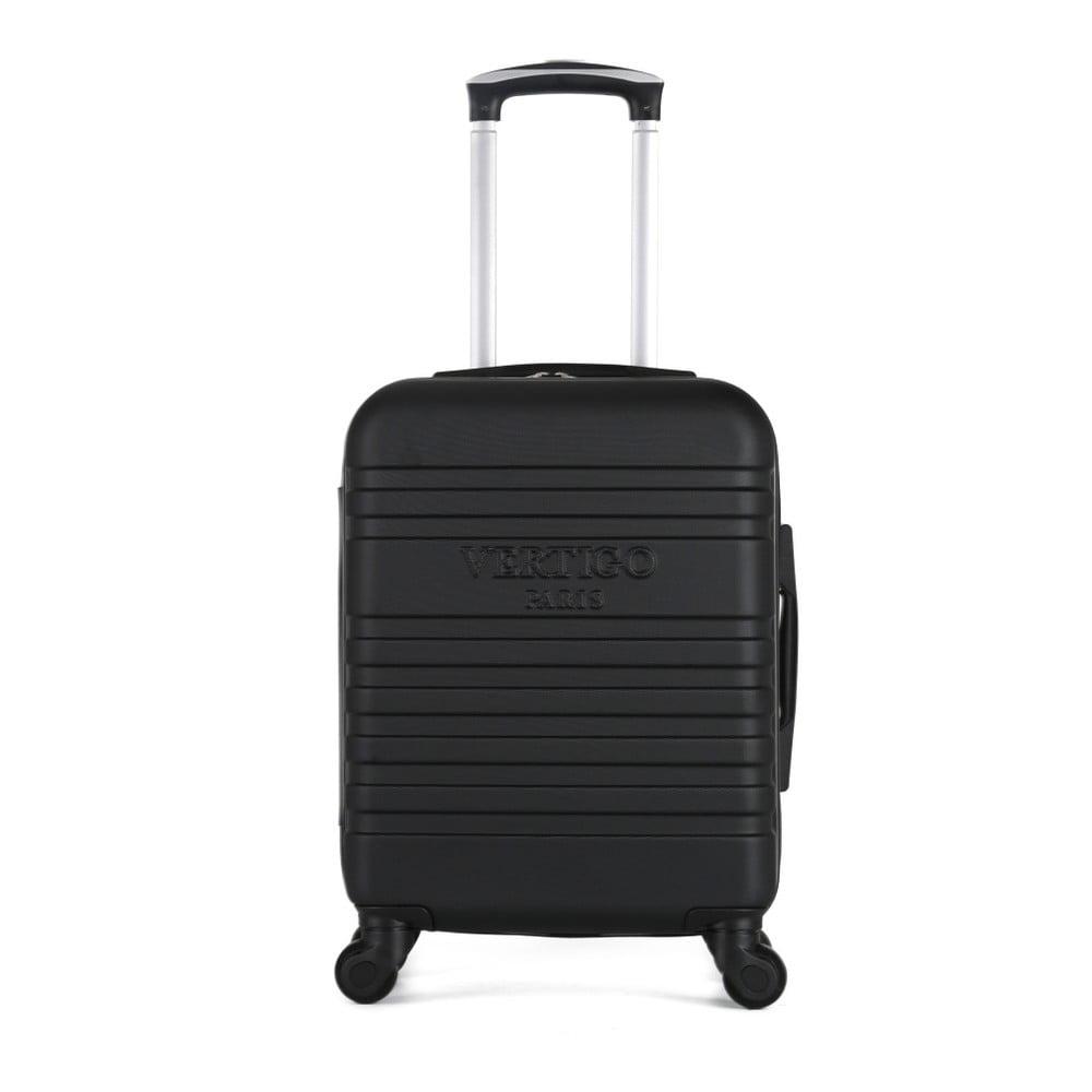 Čierny cestovný kufor na kolieskach VERTIGO Mureo Valise Cabine, 34 l